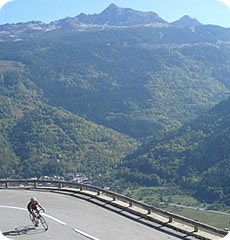 Alpine Cadence : Alpine training camps for cyclists : Christen the Cols
